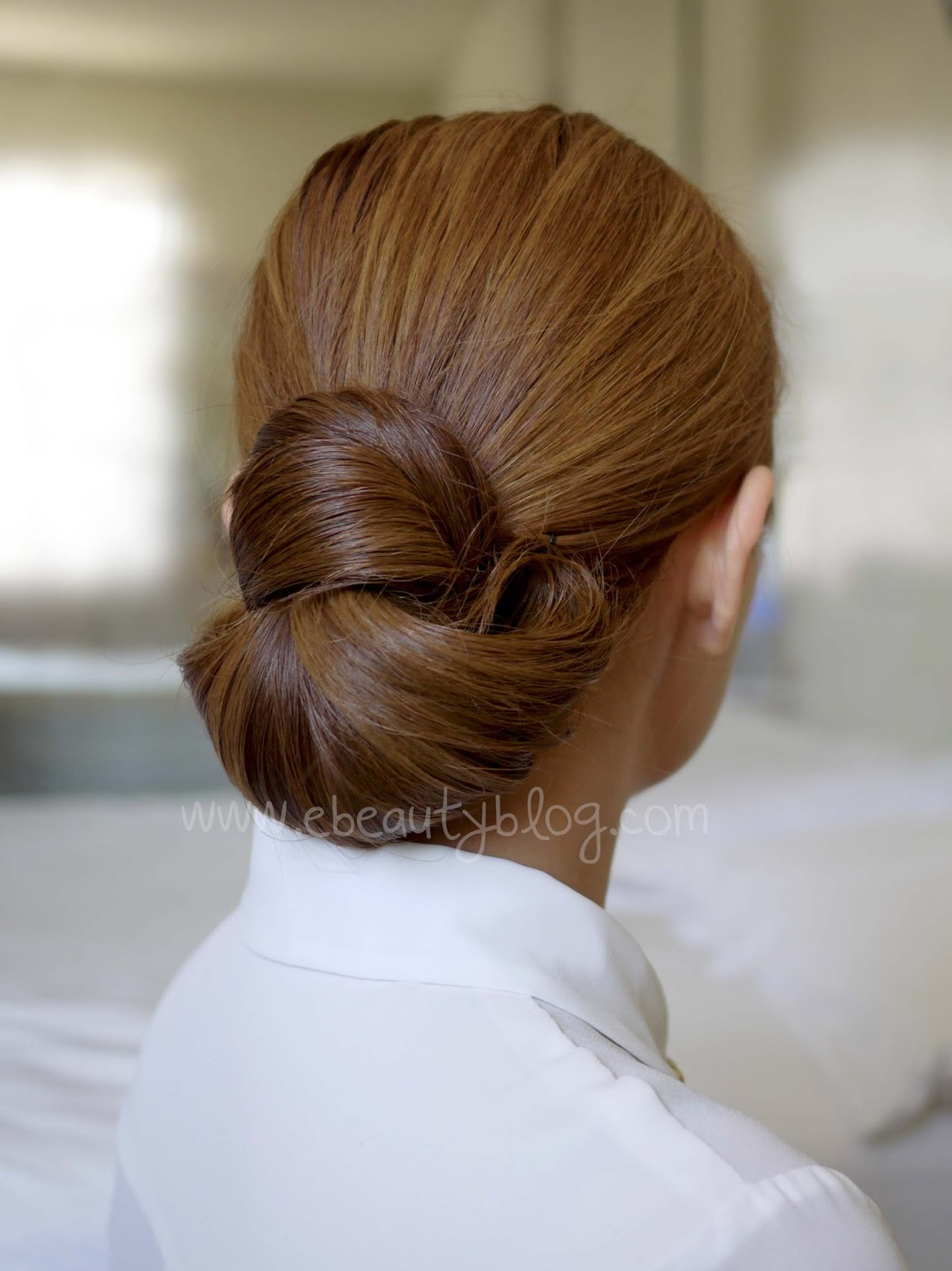 Ebeautyblog Com Hair Tutorial Easy Elegance Hair Bun