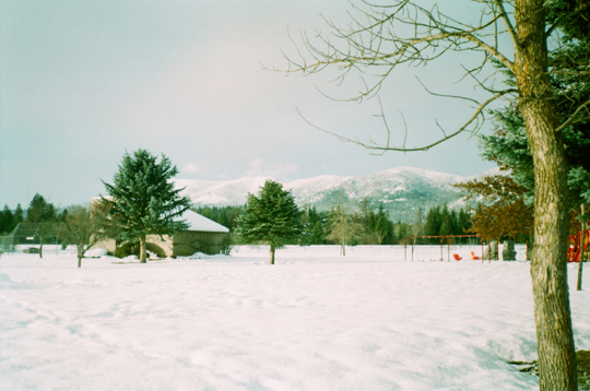 Ansco 1090 AFS winter field in Sandpoint
