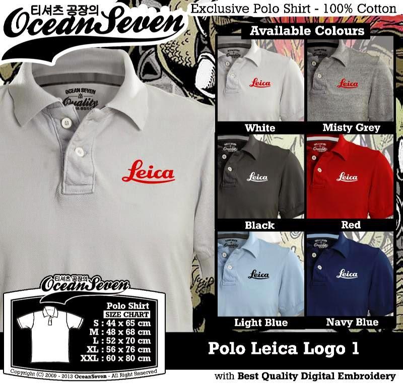 Kaos Polo Leica Logo 1