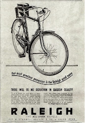 War Time Raleigh Ad