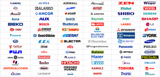kombi markaları ve logoları