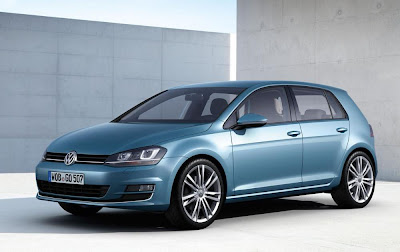 Volkswagen Golf 5-Door Hatchback (2013) Front Side 1