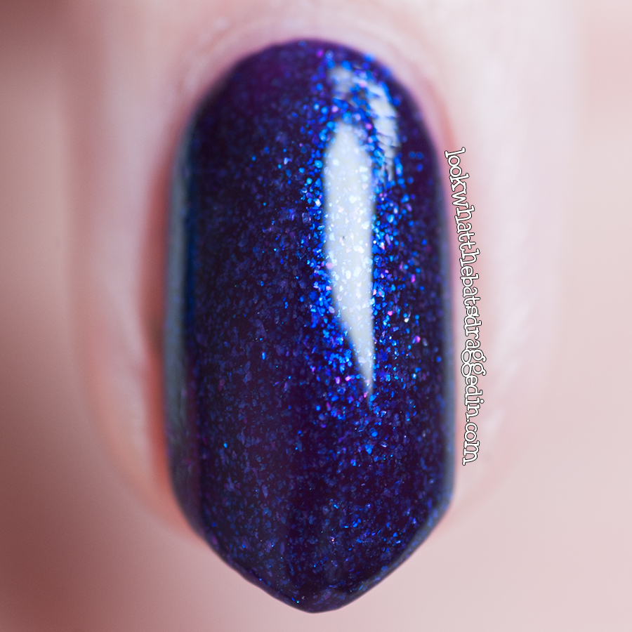 Kleancolor Disco Purple nail polish