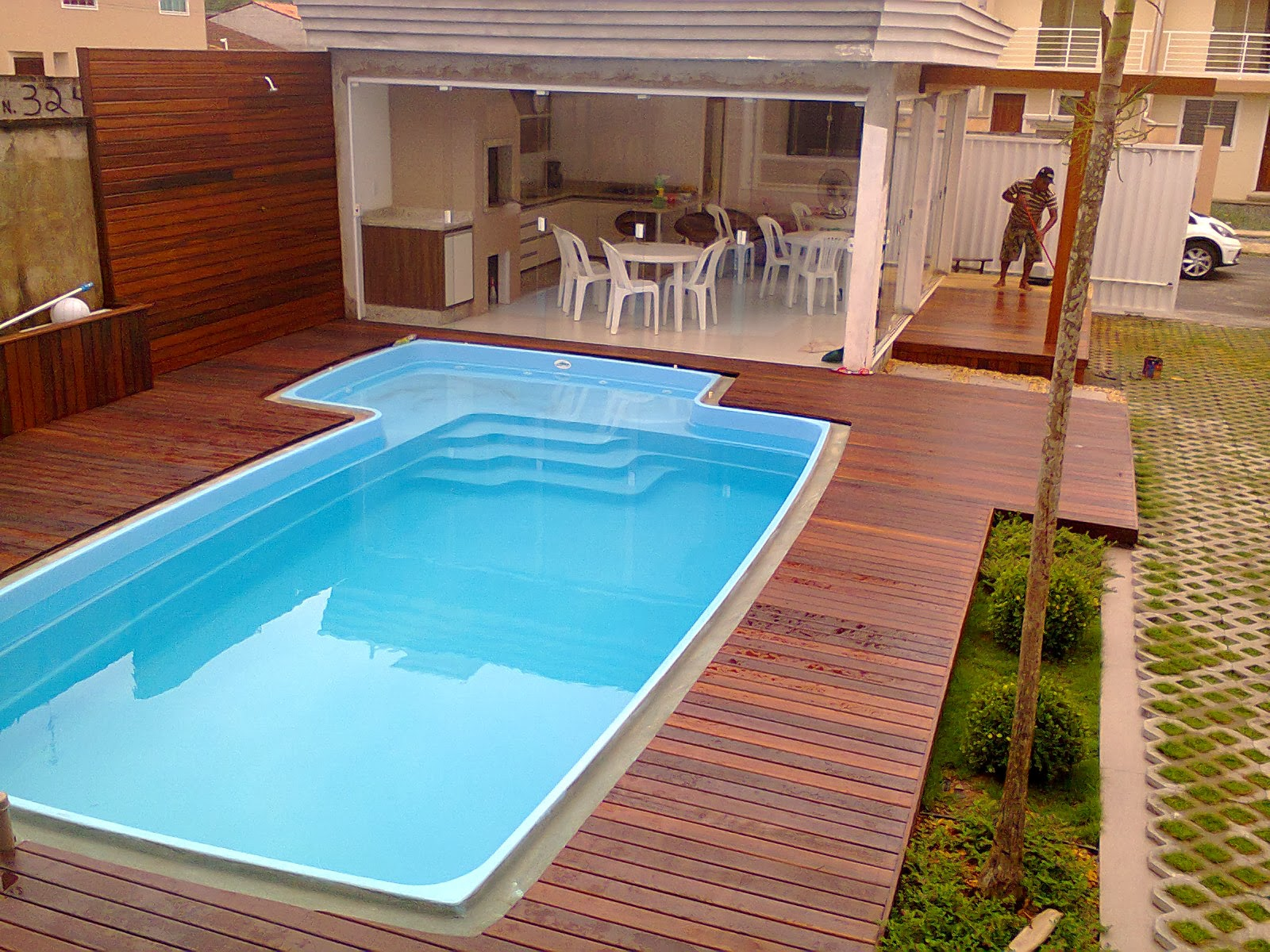Deck em joinville deck para piscina joinville - Immagini piscina ...