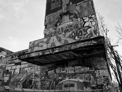 Tubs Tower – Black and White