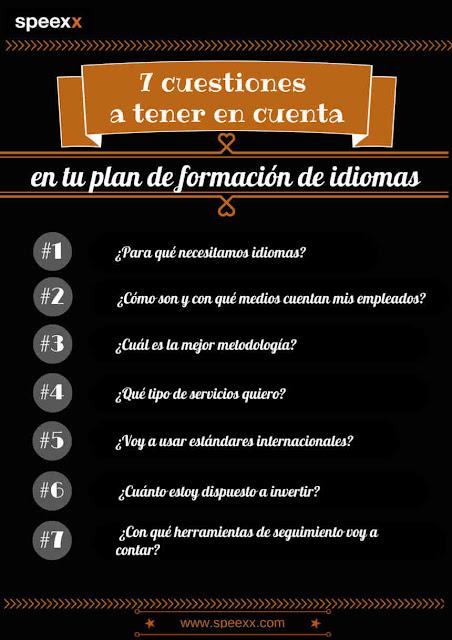 7 consejos para tu plan de formación de idiomas