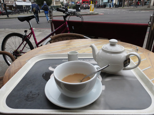Tea at Mornington crescent