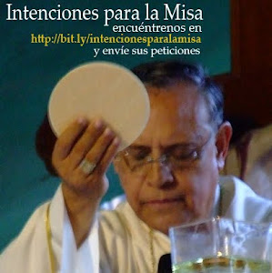 Intenciones para la Santa Misa