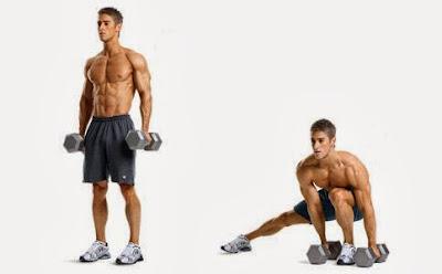 Странични напади със собствено тегло и  тежести