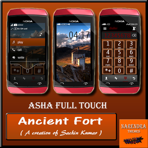 Narendra's Themes: Ancient Fort ! Asha Full Touch