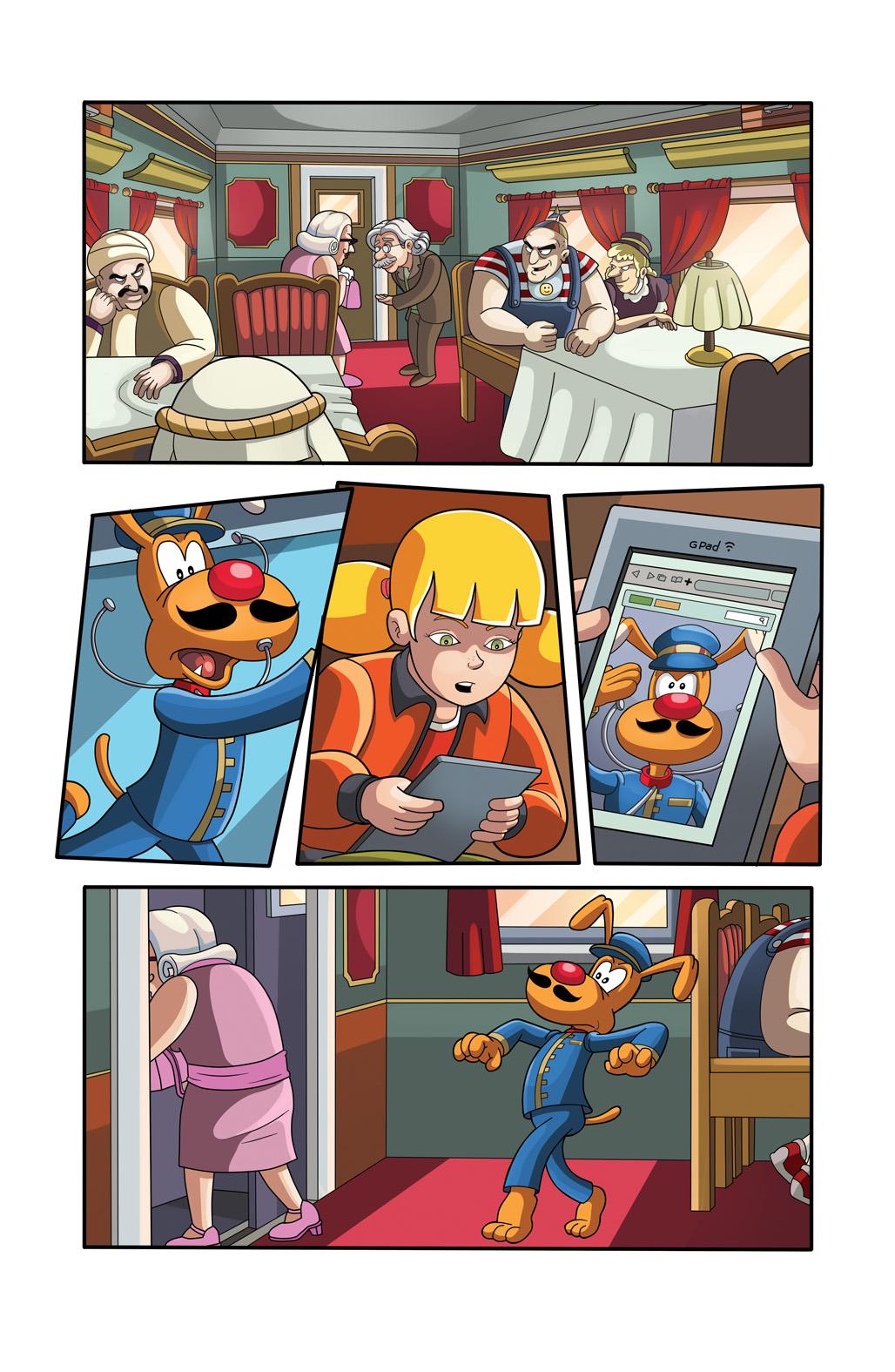 инспектор гаджет комиксы