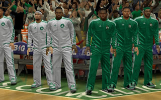 Celtics Jersey Mods for NBA 2K13 PC