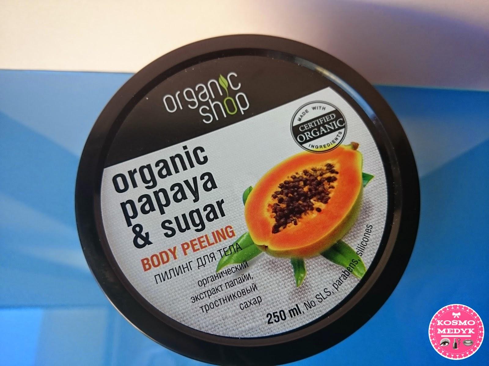Organic Shop - Organiczny Peeling Soczysta Papaja - nowy ulubieniec?