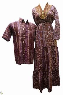 Foto Model Baju Batik Sarimbit Panjang
