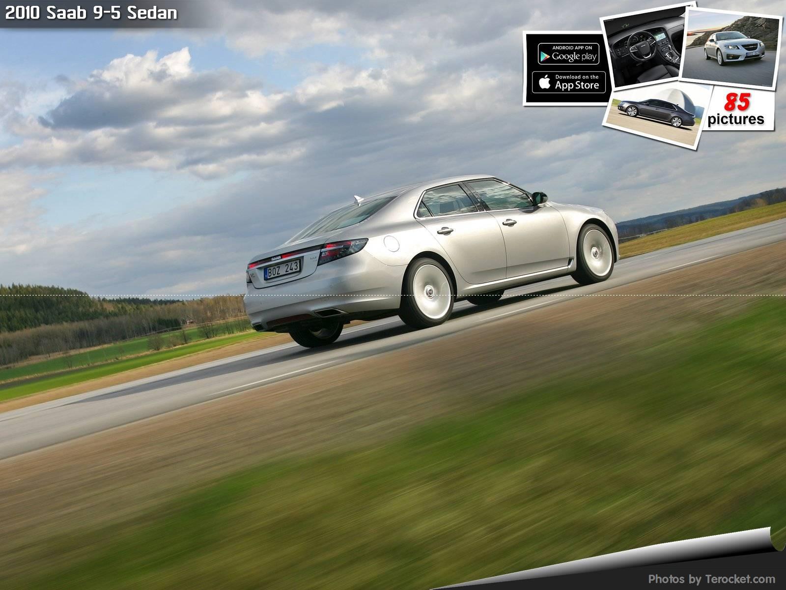 Hình ảnh xe ô tô Saab 9-5 Sedan 2010 & nội ngoại thất