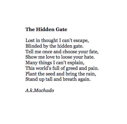 Poet Spotlight Series: Anthony Machado / Miss Lauren Kyle