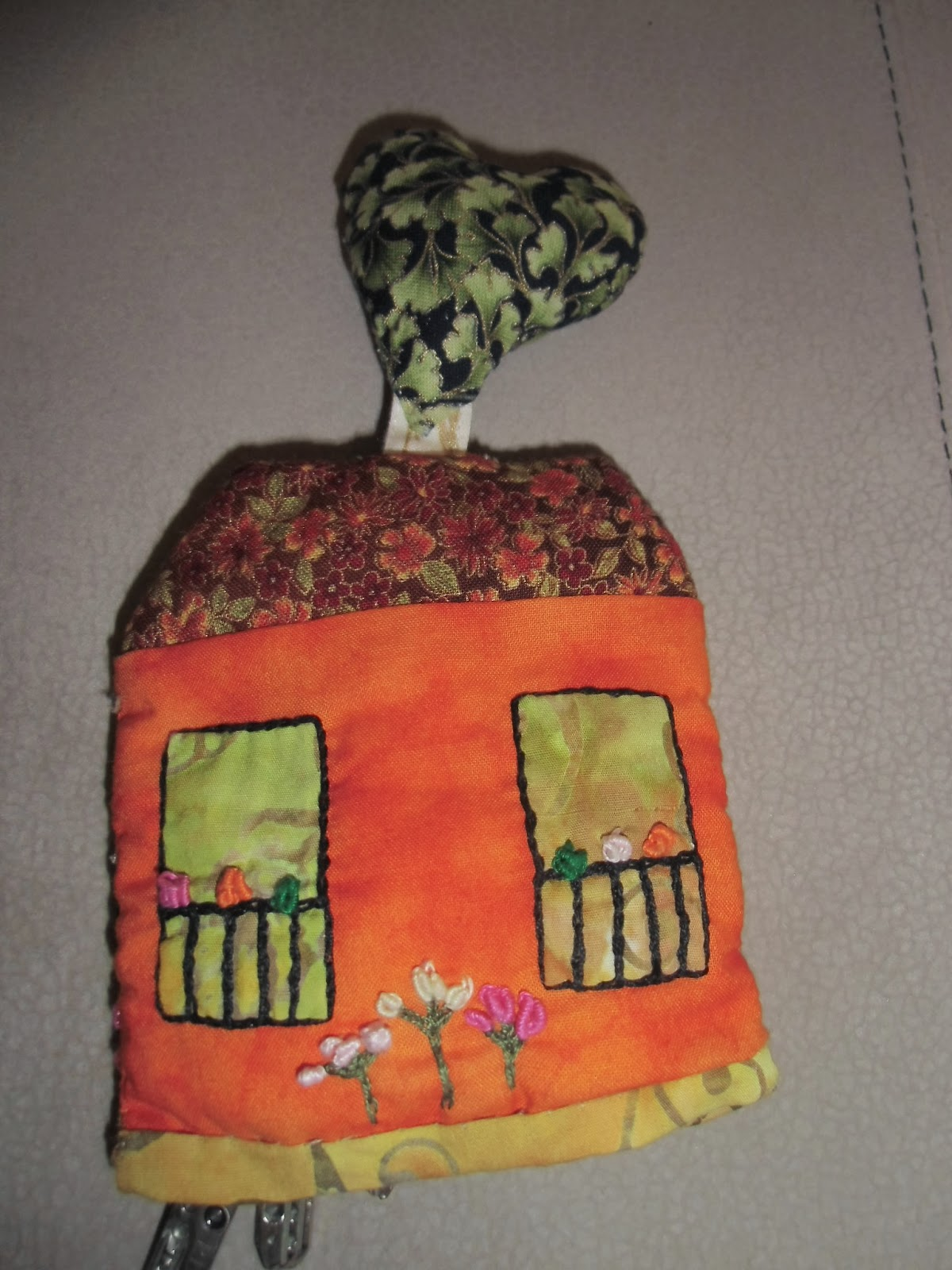 Labores y patchwork llavero casita patchwork - La casita del patchwork ...