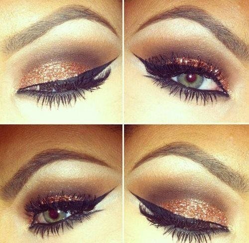 Today we are going to share with you Bronze Smokey Eye Tutorial; in this makeup the artist have using light washes of color that are looking marvelous.