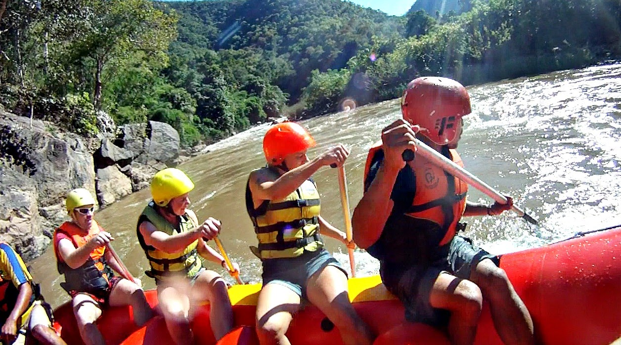 Pai White Water Rafting - Thailand