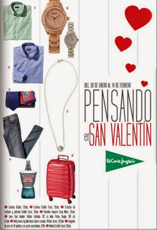 San Valentin El Corte Ingles 2015