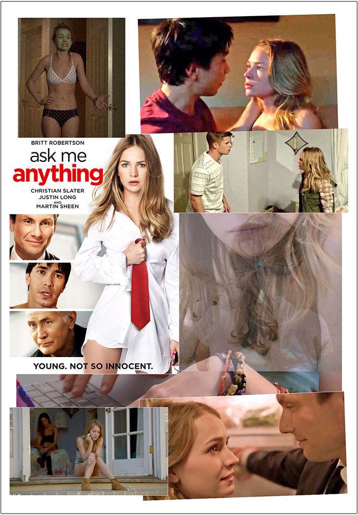 блондинка,оральный секс, фильм о трудностях взросления, Ask Me Anything, Проси меня о чём угодно, Katie Kampenfelt, blonde, oral sex, Britt Robertson, Бритт Робертсон