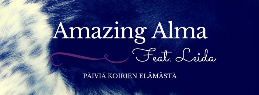 Amazing Alma, feat. Leida                - päiviä koirienelämästä