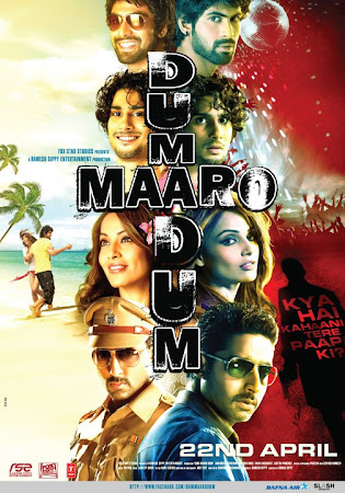 Poster Of Bollywood Movie Dum Maaro Dum (2011) 350MB Compressed Small Size Pc Movie Free Download