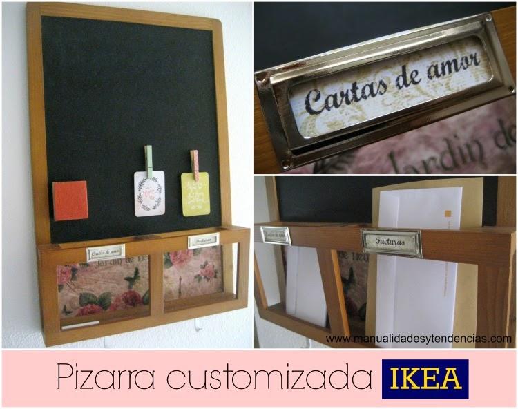 Pizarra Luns Ikea customizada
