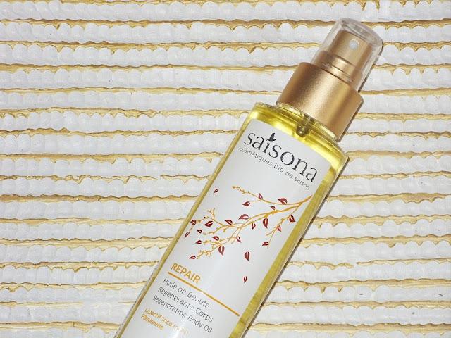 Recenzja: Regenerujący olejek do ciała, Repair, Saisona