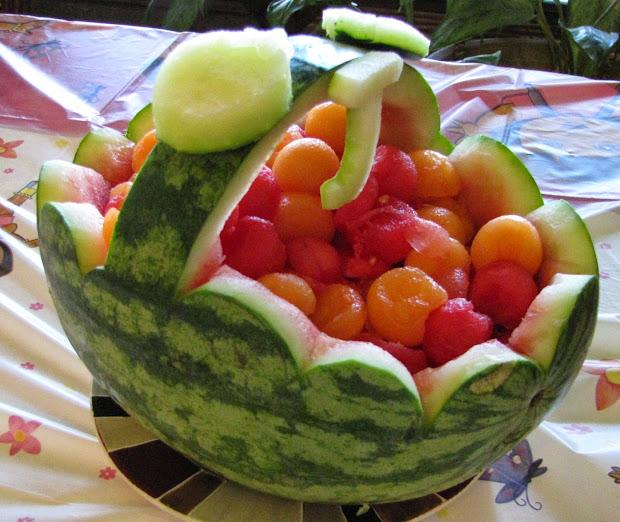 Watermelon Fruit Bowl
