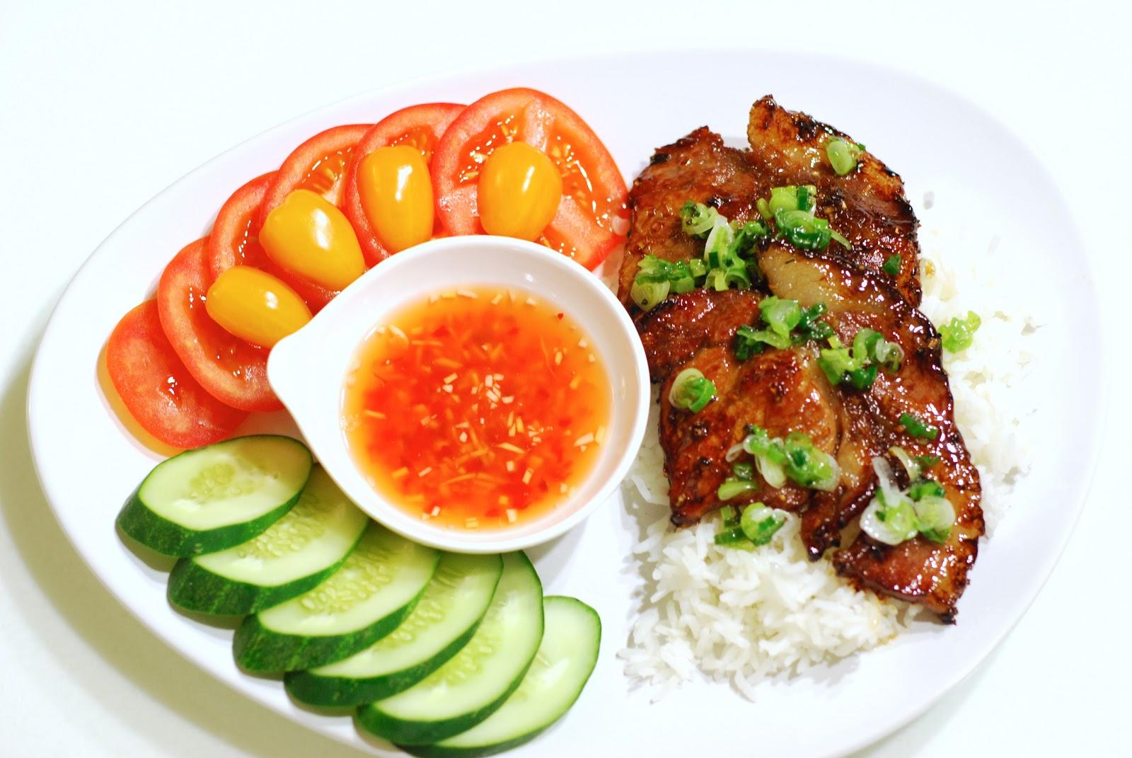 Vietnamese bbq pork chops recipe
