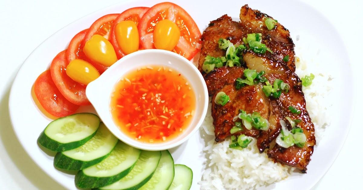 Vietnamese Grilled Pork Chop on Jasmine Rice