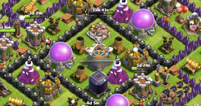 Membuat Base Anti Hog Rider COC