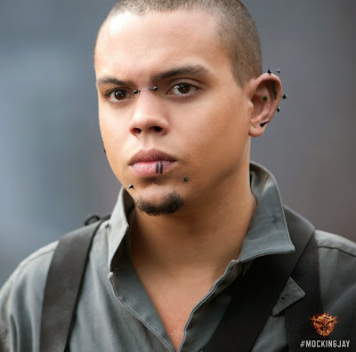 Evan Ross in The Hunger Games Mockingjay Part 1