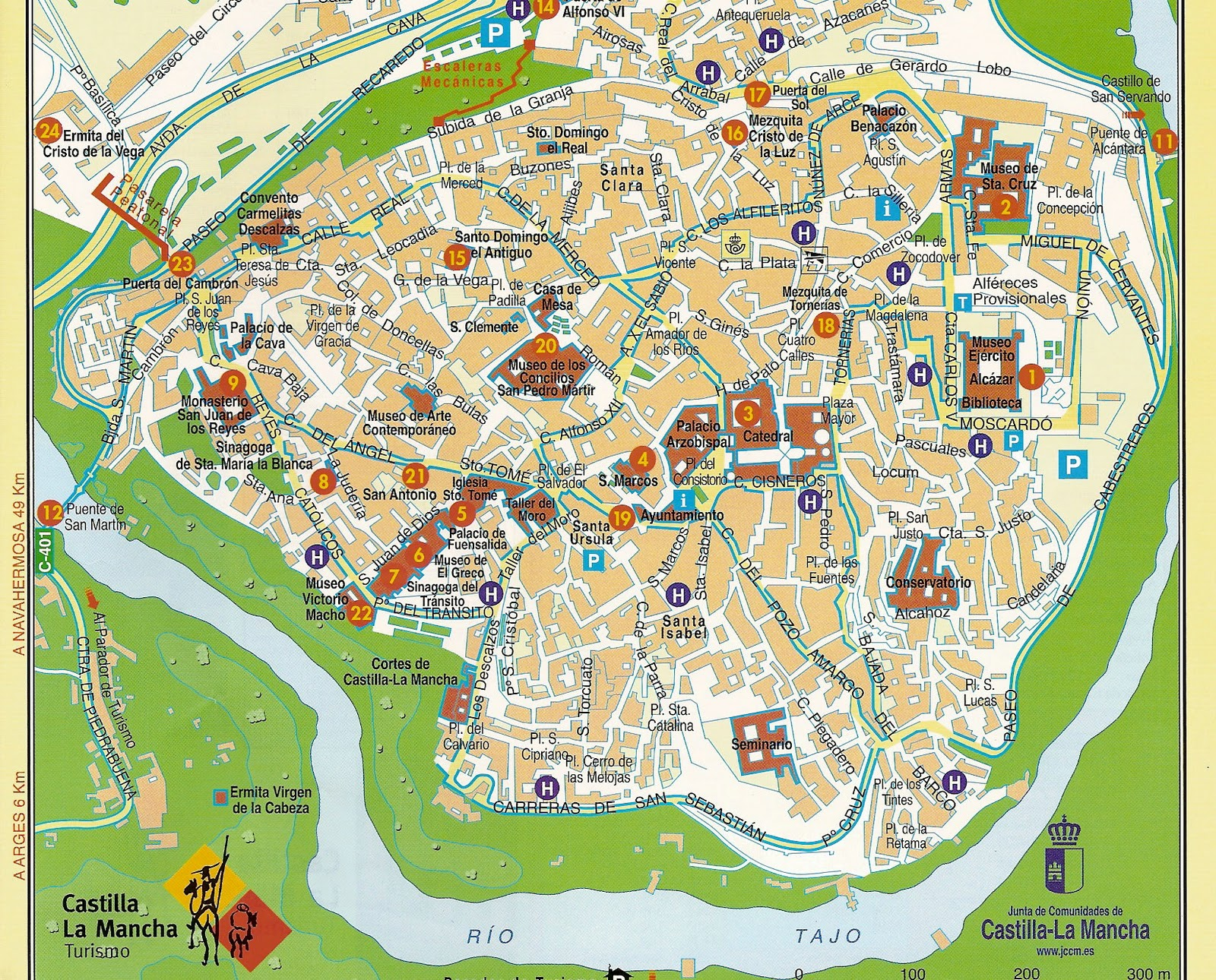 Toledo la ciudad de las tres culturas for Oficina turismo toledo