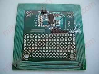Czytnik RFID z układem EM4095.