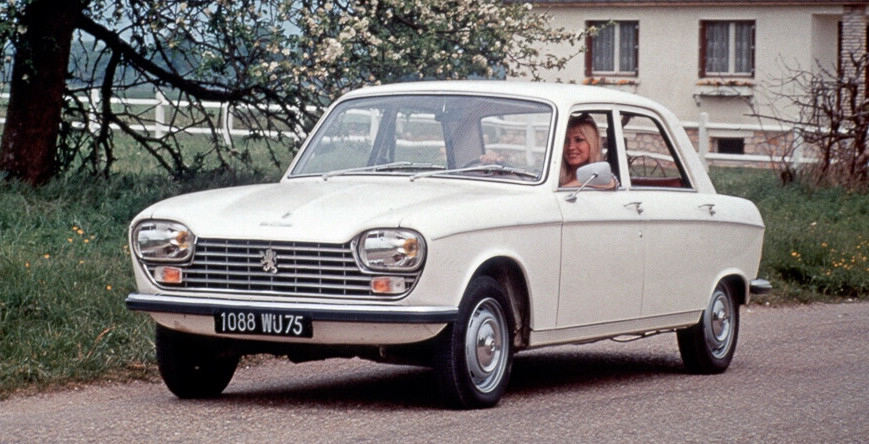 all about cars: Peugeot Car Production By Model : 1960-69