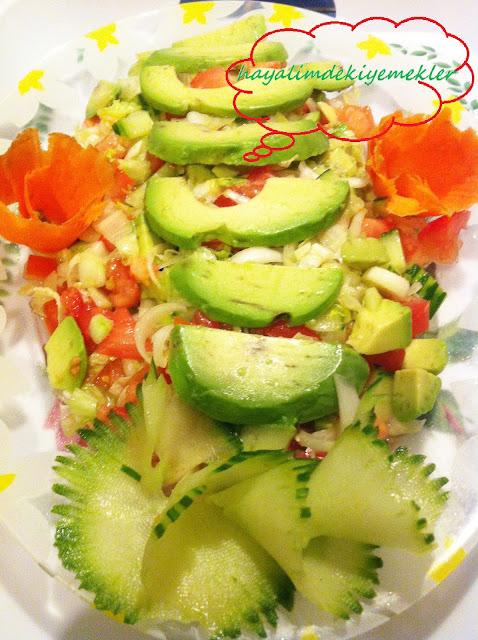 resimli degisik salata tarifleri