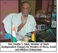 Shri Dinsha J. Patel, Minister of Mines