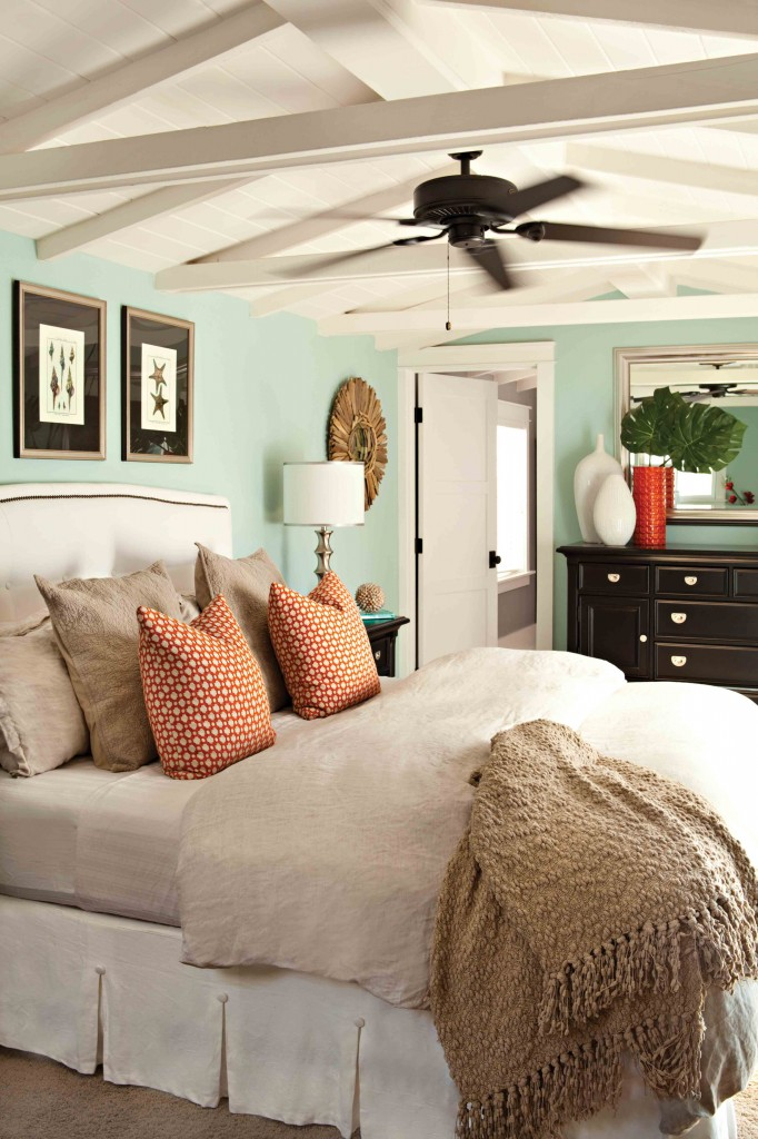 Orange and turquoise a match made in color heaven postcards from the ridge - Match colors living bedroom ...