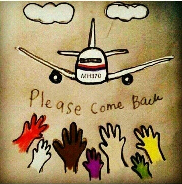 Keep on Praying for MH370