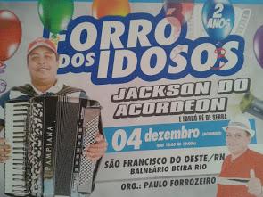 FESTA DE 2º ANIVERSÁRIO DO FORRÓ DOS IDOSOS!