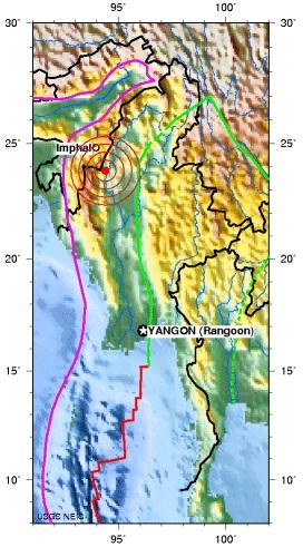 Myanmar earthquake 2012 September 11