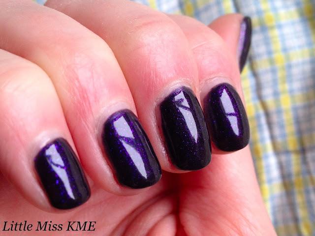 OPI Gel Color on nails in natural light. OPI INK