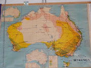 Education wallhanging Maps. Australia and what we produced and the areas we . (mapaustraliaproductionheath)