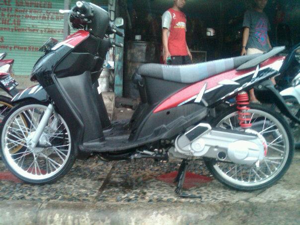 contoh Variasi Motor Mio Cw