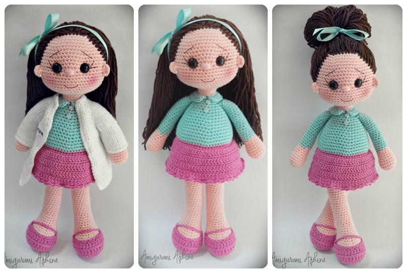 Amigurumi Bayan Doktor Adayi :) Tiny Mini Design