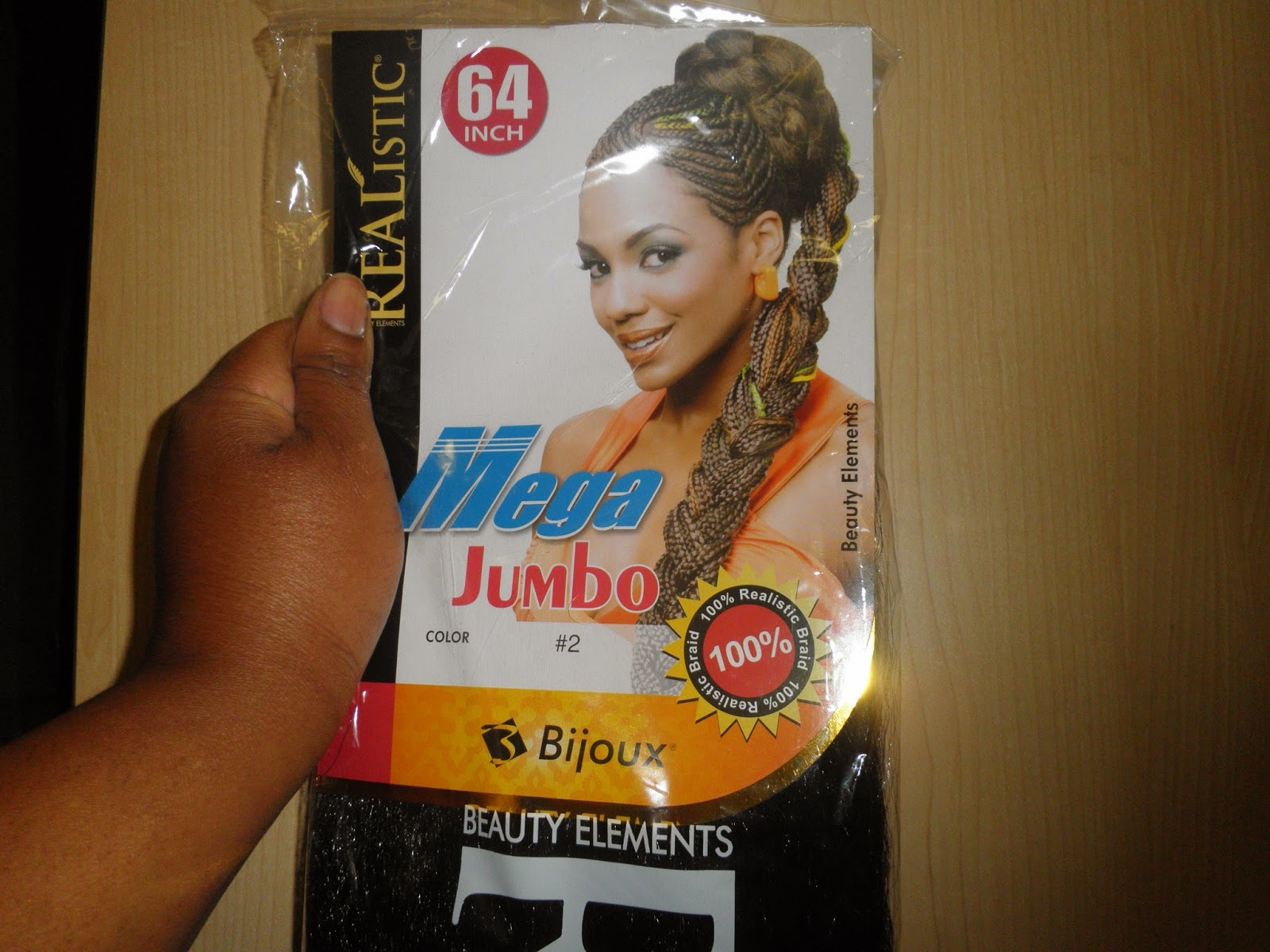 PhenomenalhairCare Review Bijoux Mega Jumbo Braiding Hair