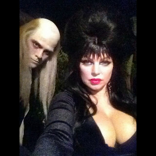 Fergie as Elvira and Josh Duhamel as Riff Raff