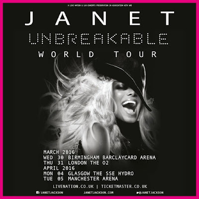 Janet jackson tour dates in Perth